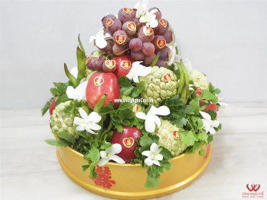 Quả trái cây ngũ quả - Mâm quả cưới hỏi