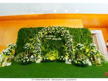 Trang trí tiệc cưới nhà hàng Adora