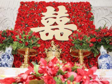 Trang trí nhà Lễ gia tiên cưới hỏi