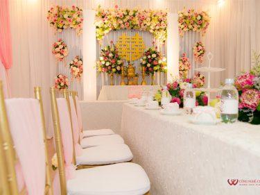 Trang trí nhà đám cưới trọn gói