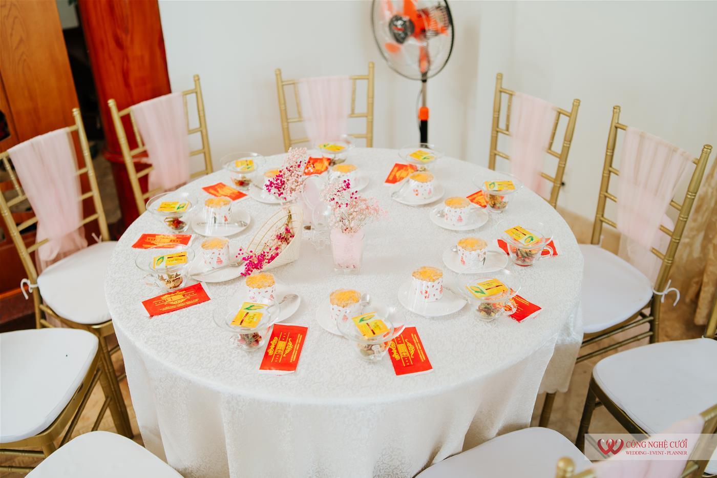 Trang trí nhà Lễ đính hôn trọn gói