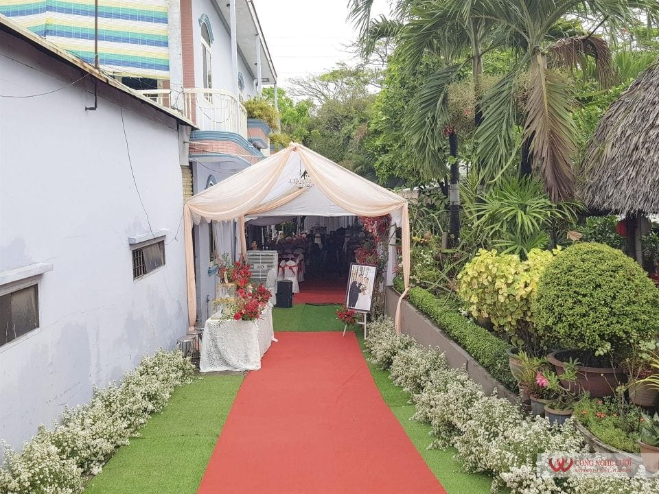 Tổ chức đám cưới tại nhà quận 12